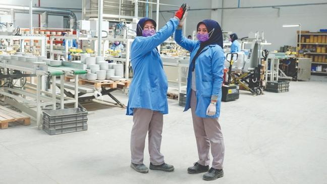 Bu fabrikanın mirası 'kadın gücü'