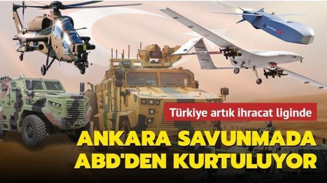Ankara savunmada ABD'den kurtuluyor