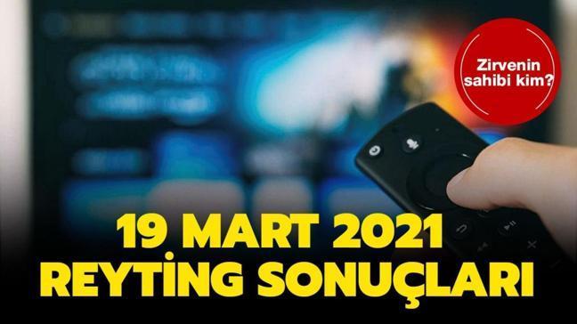 Kırmızı Oda, Arka Sokaklar, Ramo reyting birincisi belli oldu! 19 Mart 2021 reyting sonuçları açıklandı!