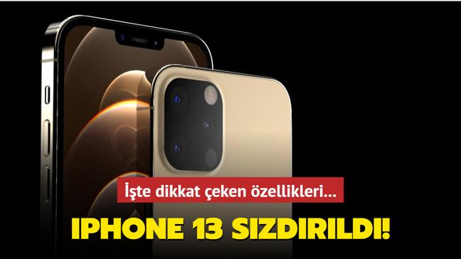 Apple'ın yeni model telefonu iPhone 13 tasarımı sızdırıldı! İşte dikkat çeken özellikleri...
