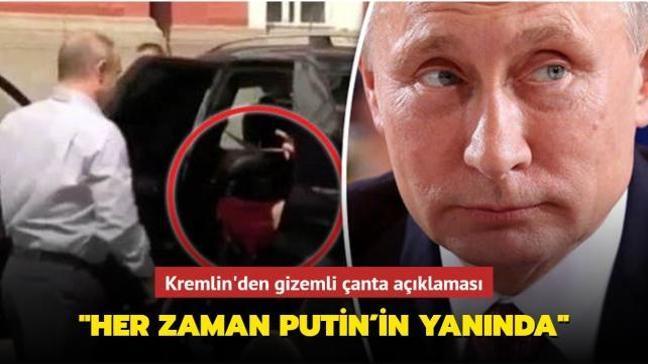 Kremlin'den gizemli çantaya ilişkin açıklama: Nerede olursa olsun Putin'in yanında