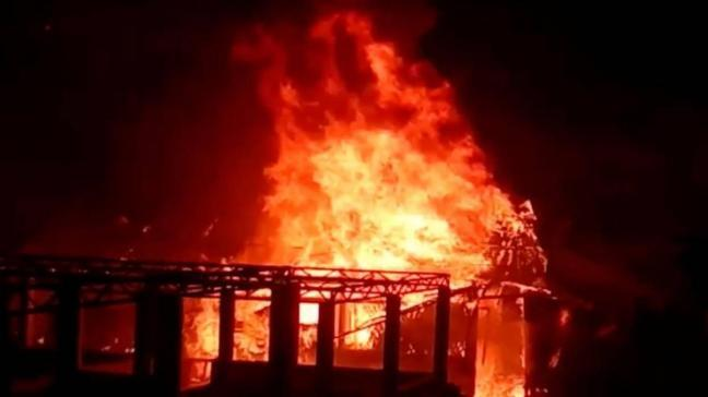 Arakanlı Müslümanların kampında yangın çıktı: Çok sayıda kişi kayıp