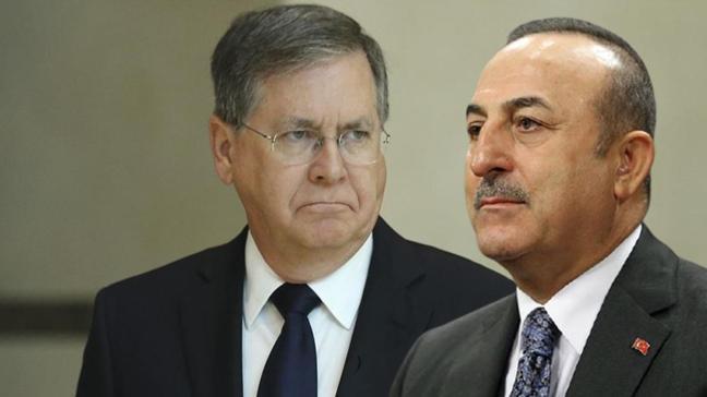 Bakan Çavuşoğlu, ABD Büyükelçisi Satterfield'i kabul etti