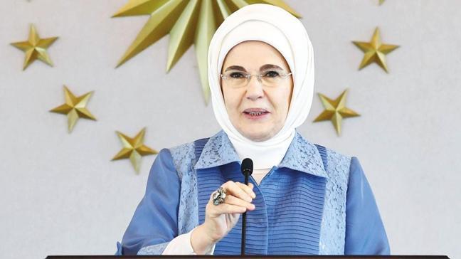Emine Erdoğan: İsraf ettiğimiz her damla su diğer insanların hakkı