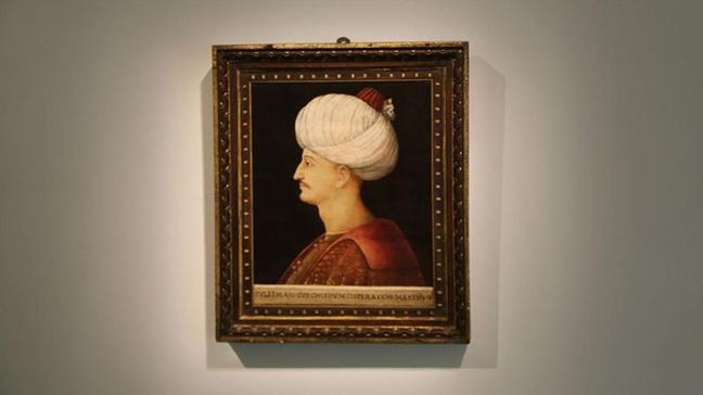 Kanuni Sultan Süleyman portresi İngiltere'de açık artırmada... 43 yaşındaki hali olduğu tahmin ediliyor