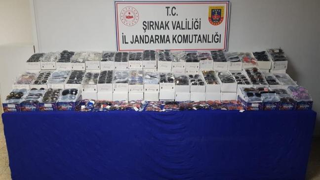 Şırnak'ta uyuşturucu ve kaçakçılık operasyonlarında gözaltına alınan 22 şüpheliden 1'i tutuklandı