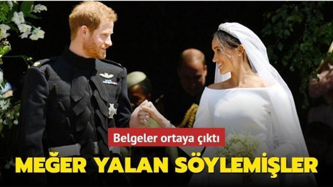 Prens Harry ve Meghan Markle'ın yalan söylediği ortaya çıktı