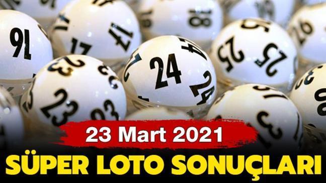 MPİ Süper Loto sonuçları 18 Mart 2021