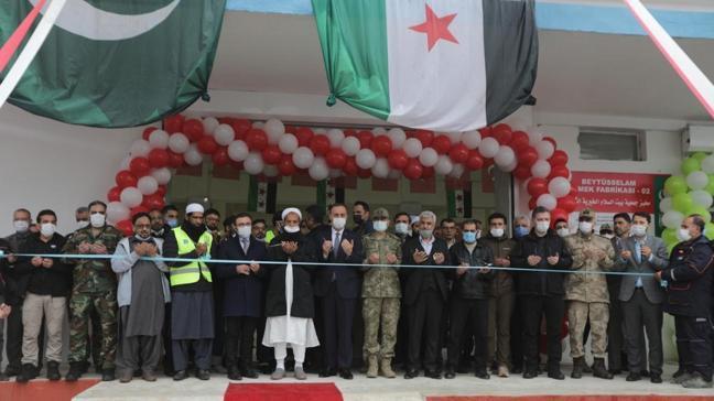 Barış Pınarı'na Türkiye'den destek: Fırın ve ilkokul açıldı