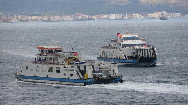 Bozcaada ve Gökçeada ilçesine yapılması planlanan tüm feribot seferleri iptal edildi