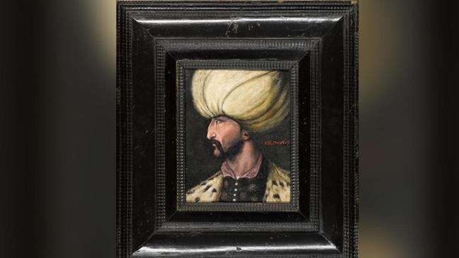 Kanuni Sultan Süleyman'ın portresi açık artırmaya çıkacak