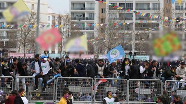Nevruz kutlamalarında terör propagandası: 21 gözaltı