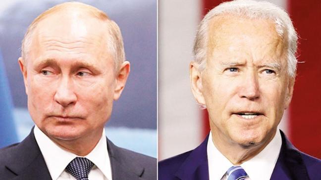 Putin online görüşme istedi, Biden kabul etmedi