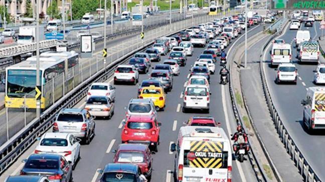 Şubatta trafiğe çıkan araç sayısı %42 arttı