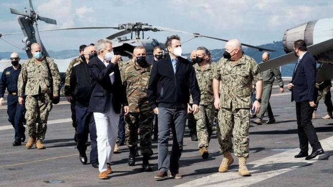 Uçak gemisinde Yunan tahriki