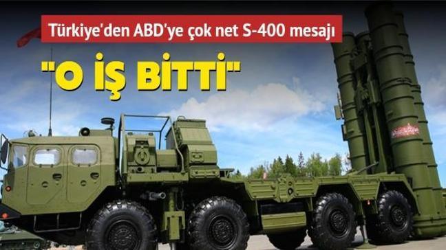 Bakan Çavuşoğlu-Blinken görüşmesi: S-400'ü satın aldığımızı işin bittiğini söyledik