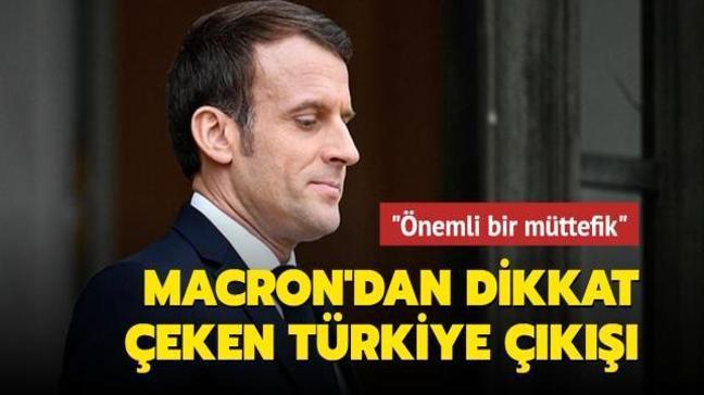 Fransa Cumhurbaşkanı Macron, AB ülkelerine Türkiye ile birlikte çalışma çağrısı yaptı