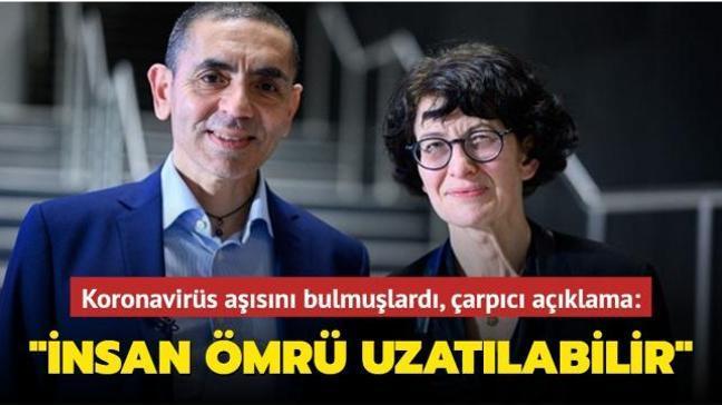 Koronavirüs aşısını geliştiren Türk bilim insanları insan ömrünün uzatılabileceğini açıkladı