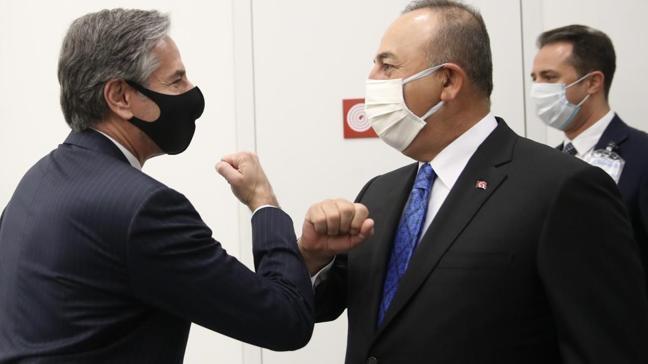 Bakan Çavuşoğlu ABD'li mevkidaşıyla buluştu