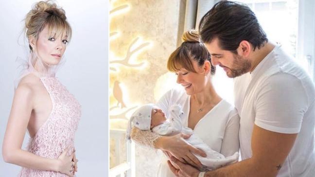 Sadakatsiz'in Derya'sı Özge Özder bebeği Eva Luna'nın yüzünü ilk kez paylaştı