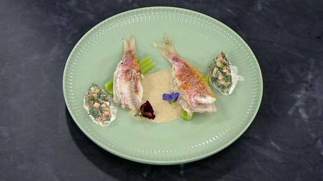 Şefin özel sosuyla barbun balığı tarifi! Balık pişirmenin püf noktası! Benim Yemeğim barbun tarifi
