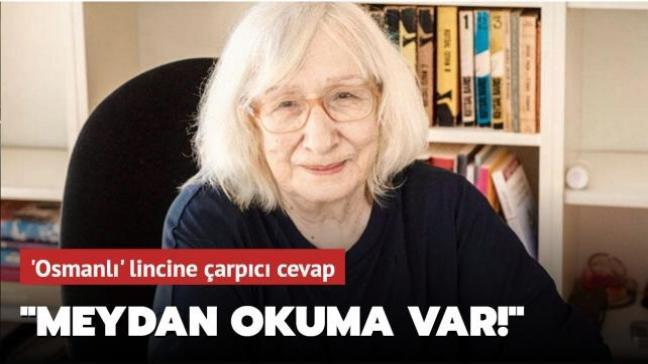 Alev Alatlı Osmanlı'yı övdü, sosyal medyadan lince uğradı