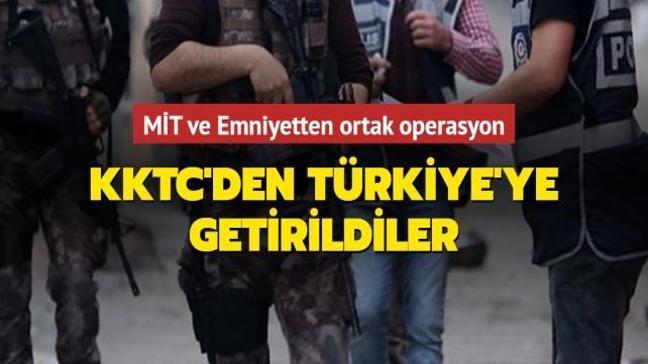 MİT ve Emniyetten ortak operasyon: İsmail Okkalı ve Ayşe Özalp Türkiye'ye getirildi