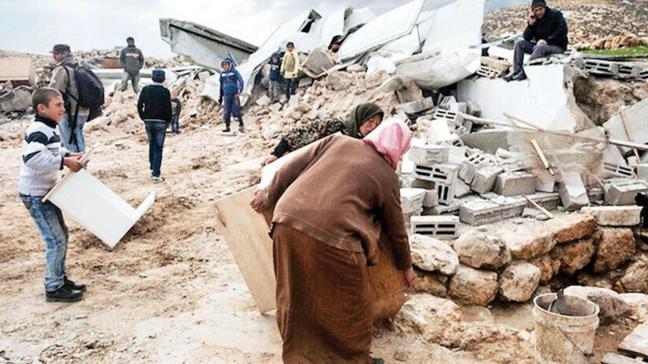 Filistin köyü 185. kez yıkıldı