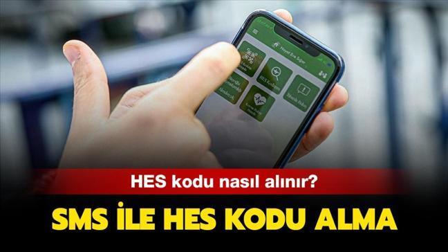 """SMS ve e-devlet HES kodu nasıl alınır"""" HES kodu alma ekranı!"""