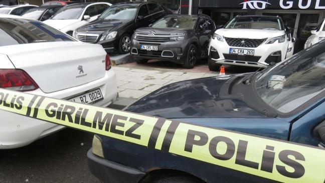 Kadıköy'de bir oto galeri kurşunlandı