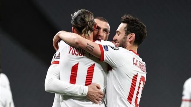 Maç sonucu Türkiye: 4 Hollanda: 2