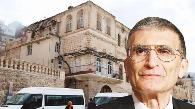 Nobel ödüllü Prof. Dr. Aziz Sancar'ın Mardin'deki evi müze oluyor