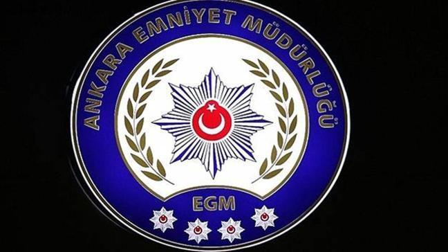 Ankara Emniyet Müdürlüğü'nden gözaltı açıklaması