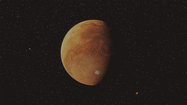Çin'in Tienvın-1 aracı Mars'ın iki tarafından fotoğraf çekti