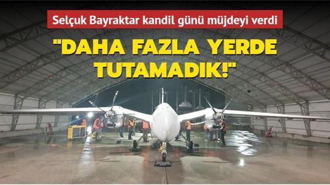 Selçuk Bayraktar AKINCI PT-3'ün ilk test uçuşunun gerçekleştirildiğini duyurdu