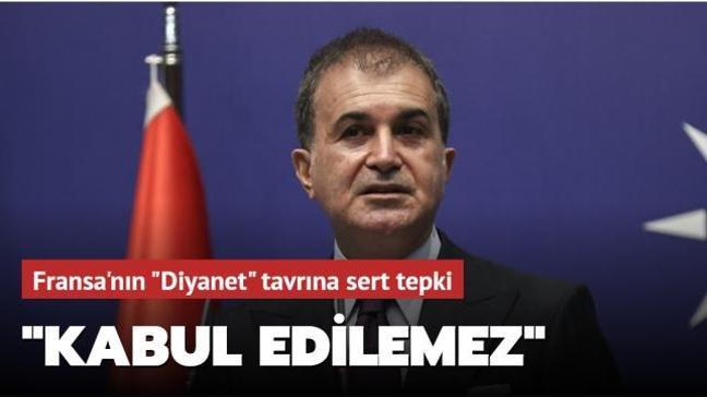 """Son dakika haberi... AK Parti Sözcüsü Çelik: """"Macron'un Türkiye tavrı kabul edilemez"""""""