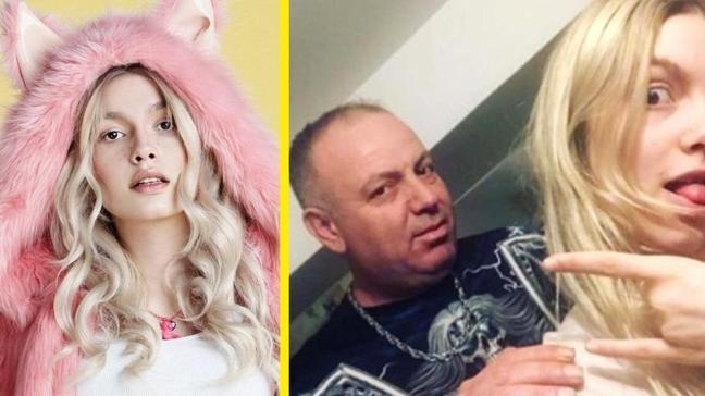 Aleyna Tilki'ye babasından doğum günü jesti! Adını lazerle yazdırdı