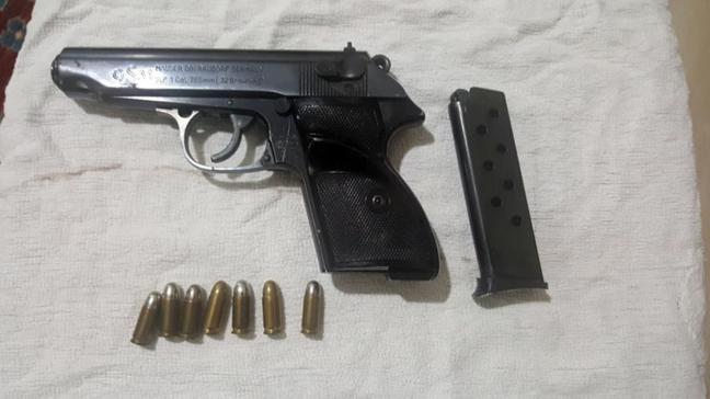 Ankara'da yasa dışı silah ticareti yapan 8 kişi yakalandı