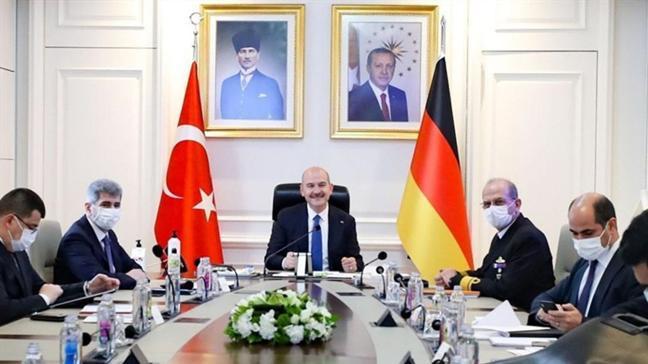 Bakan Soylu Alman mevkidaşı ile online görüşme gerçekleştirdi