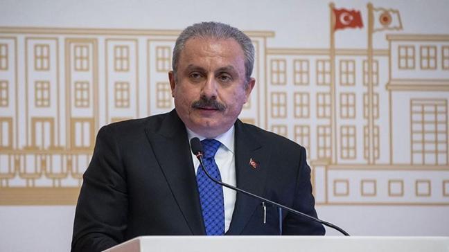 TBMM Başkanı Mustafa Şentop'tan Berat Kandili mesajı
