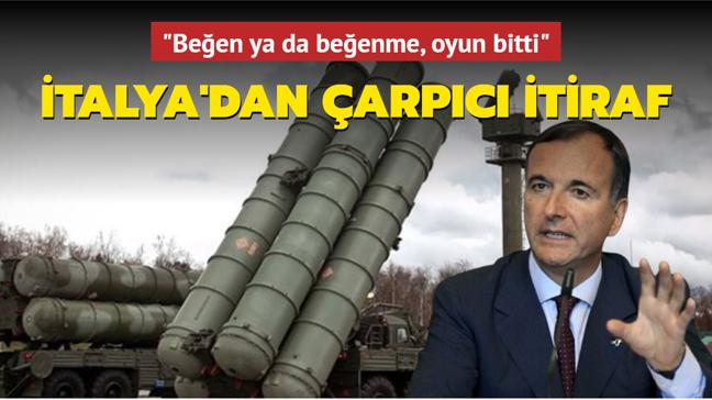 Eski İtalya Dışişleri Bakanı: Türkiye S-400'leri iade etmeyecek