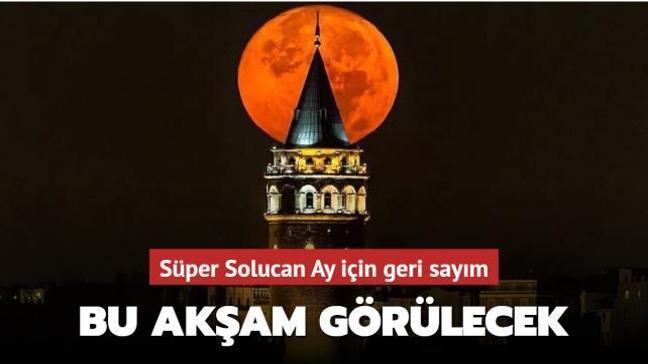 """""""Süper Solucan Ay"""" bu akşam çıplak gözle izlenebilecek"""