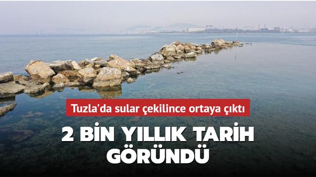Tuzla'da kalıntılar ortaya çıktı: Tarihi 2 bin yıla dayanıyor