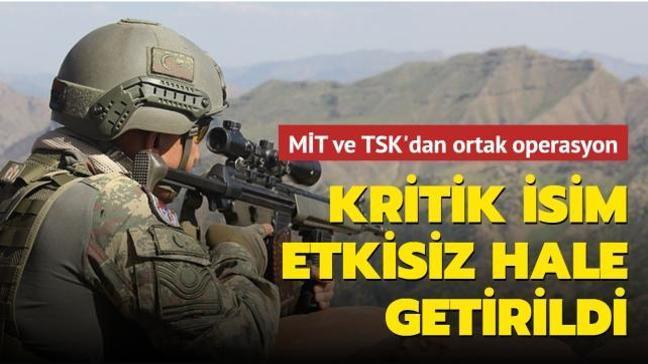 Son dakika haberi: PKK'nın kritik ismi Ömer Aydın etkisiz hale getirildi