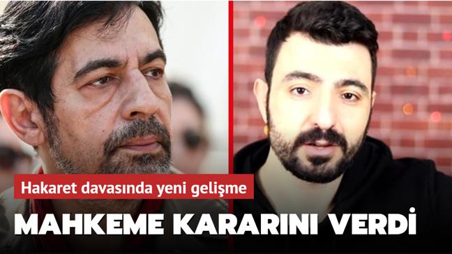 Okan Bayülgen ve Youtuber  Muhammet Çumanoğlu davasında yeni gelişme! Mahkeme kararını verdi