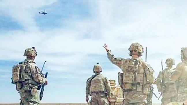 ABD'den teröriste Apache'li eğitim