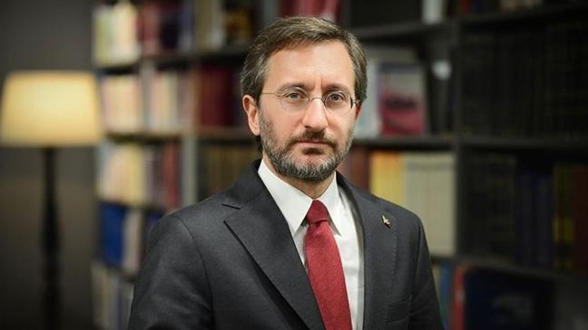 İletişim Başkanı Altun'dan kütüphaneler haftası paylaşımı