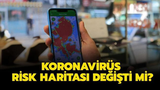 "İl il koronavirüs risk haritası renk tablosu nasıl oldu"" Türkiye Koronavirüs risk haritası güncellendi!"