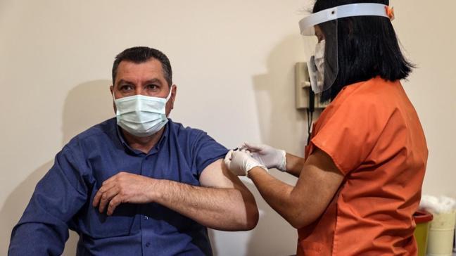 Türkiye'de yapılan aşı sayısı 15 milyonu geçti