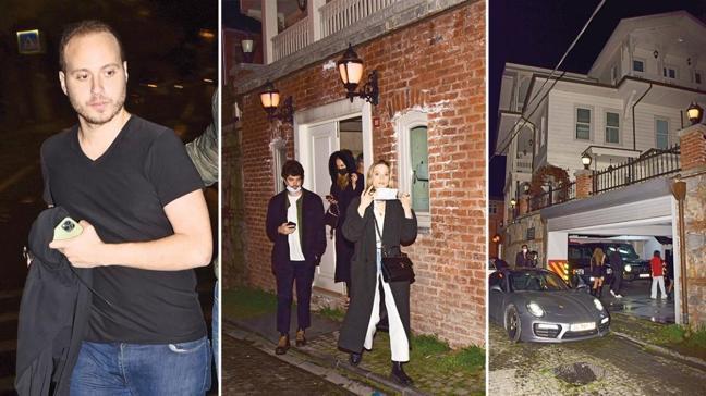 Villadaki partiye polis baskını